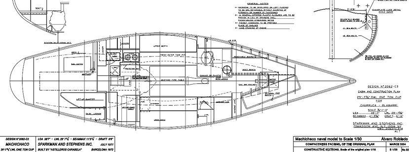 plano barco