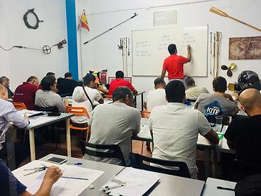 Alumnos clases carta náutica
