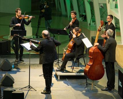 El Afecto Ilustrado abre los conciertos con público en la Cidade da Cultura de Galicia. Junio 2020