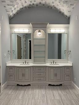 Master Vanity custom cabinets
