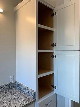 Vanity Tower custom cabinetry
