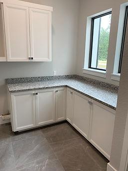 Utility Full Overlay custom cabinets