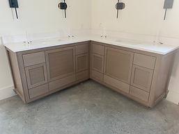 Rift Sawn custom cabinets