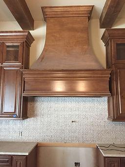 Knotty Alder custom cabinets