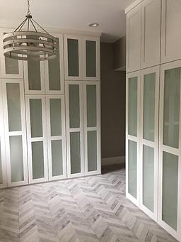Master Closet custom cabinets