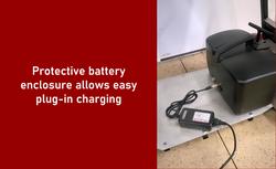 Slide - battery