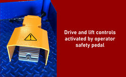 XL feature safety pedal