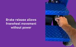 XL feature brake release