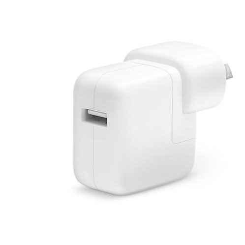 Apple Original 12W USB Power Adapter for IPAD AIR, AIR 2, IPAD MINI series, etc.