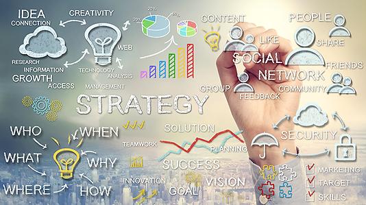 Digital Marketing Strategy, SEO, Social Network, Content EcoSystems, Digital Marketing and SEO