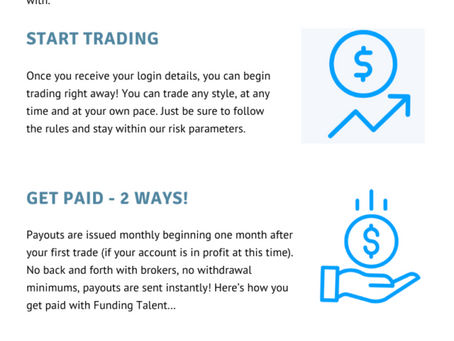 Getting A Funded Account In Forex