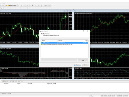 Trading From A Forex Demo Account & How To Set It Up