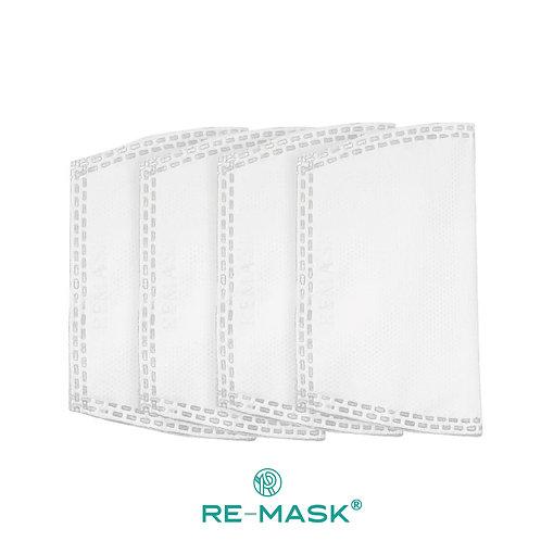 Re-Mask® 高效濾芯 (4個裝)