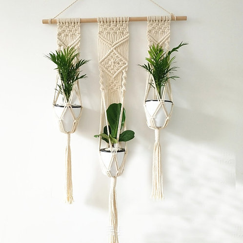 Blumenampel Triple