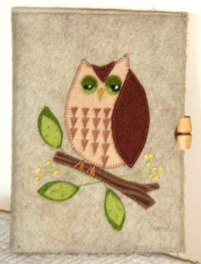 Owl Notebook kit
