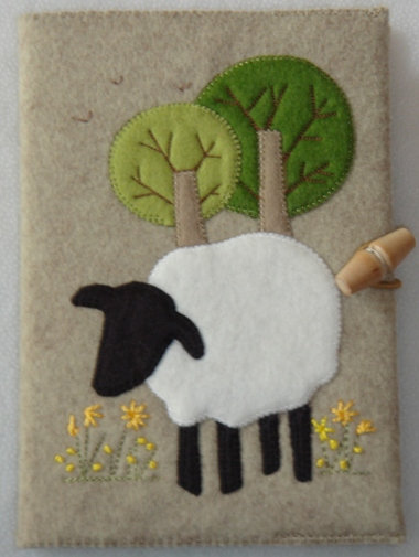 Sheep notebook kit