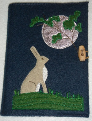 Hare notebook cover