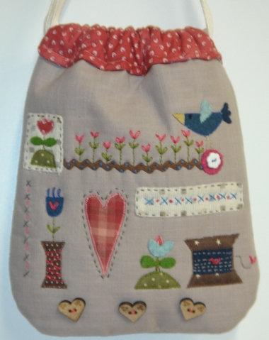 Bluebird dolly bag
