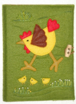 Chicken notebook kit