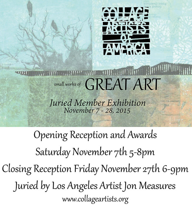 Save The Date - Small Works of Great Art