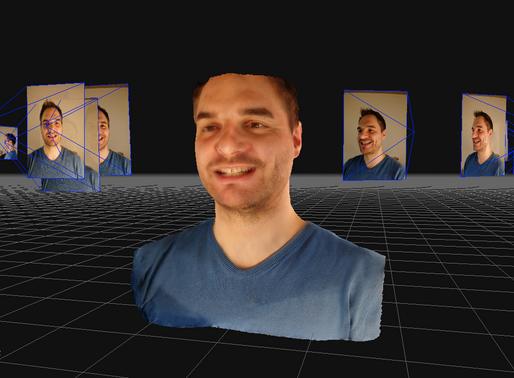 Ricostruzione facciale 3D a costo zero: è possibile e vi spiego come.