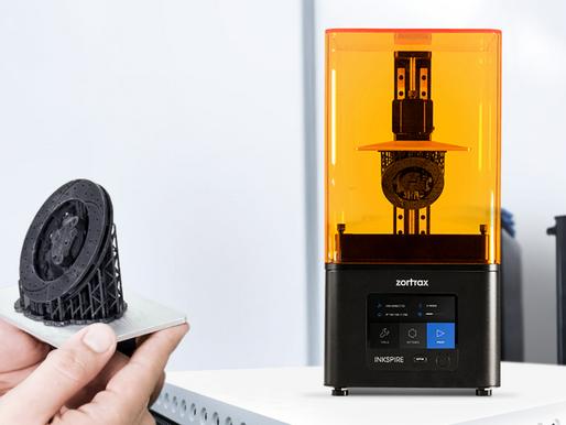 Zortrax lancia una stampante in resina anche per il dentale