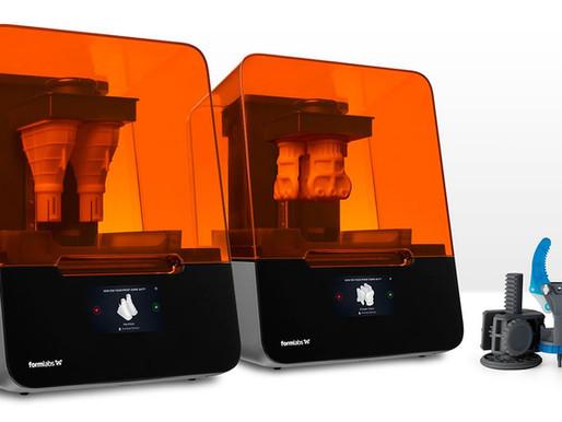 """FormLabs lancia sul mercato due nuove stampanti 3D. Facciamo un paragone con le """"vecchie"""" Form2."""
