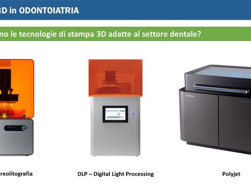 La stampa 3D in Odontoiatria in 10 slide!