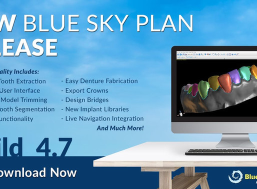 Rilasciata la versione 4.7 del software 3D BlueSkyPlan: il salto al livello superiore!