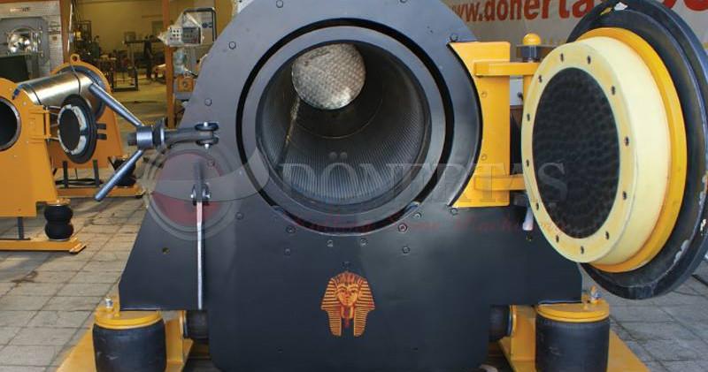 Boru tipi halı sıkma kurutma makinası