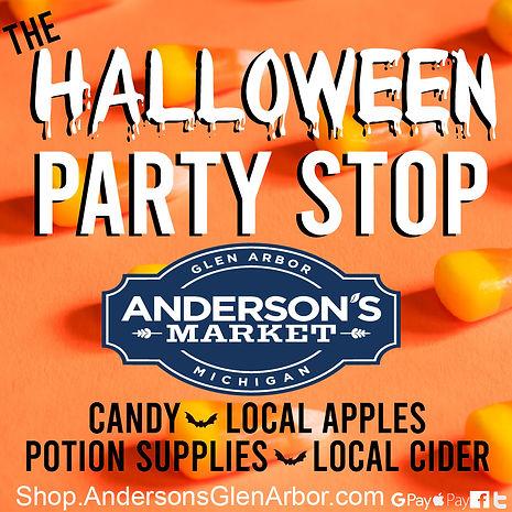 Halloween Party Stop - Andersons Market