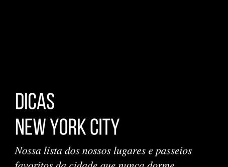 Nossos lugares em NYC