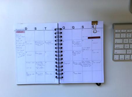 Planejamento mensal: fevereiro