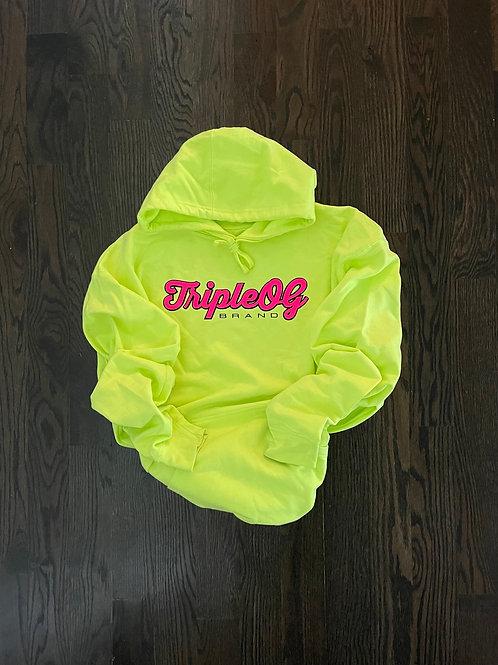 Neon Triple OG Unisex Hoodie