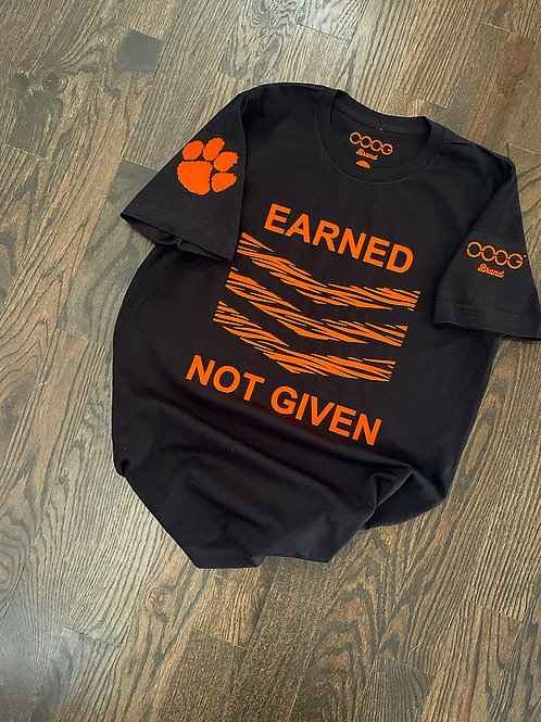 Tiger Pride Earned Not Given Unisex Tee