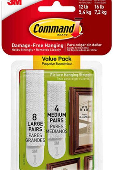 Large & Medium Picture Hanging Strips