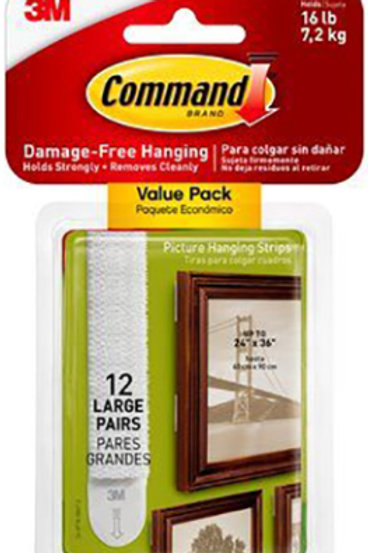 Large Command Strip Picture Hanging Strips