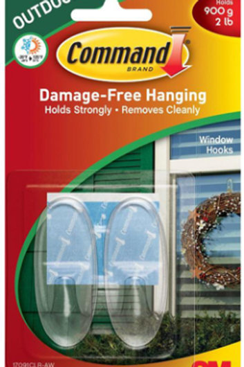 2pk Clear Decorating Hook