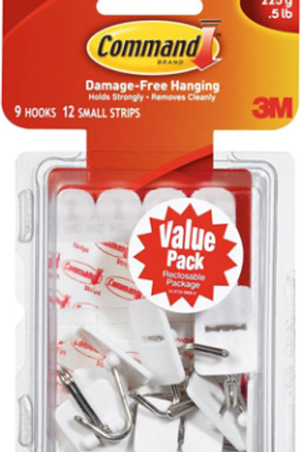 Value Pack Small Wire Hooks