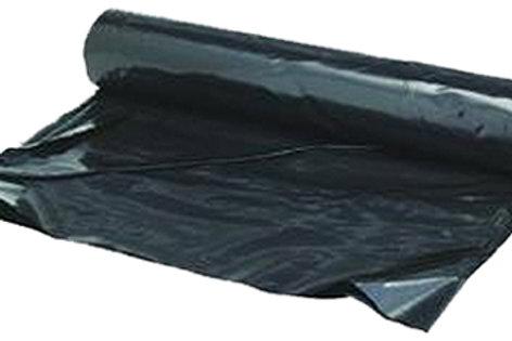 4 Mil 15' x 25' Black Plastic Sheeting