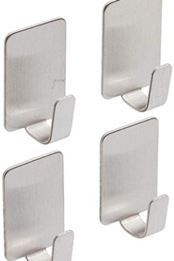 4pk Stainless Steel Hooks