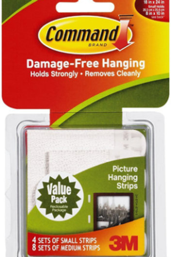 Medium Picture Hanging Strips
