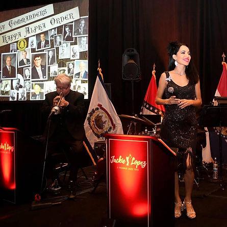 Phoenix Jazz Band Nuance and Arizona Vocalist Jackie Lopez Kappa Alpha Order Biltmore Hotel