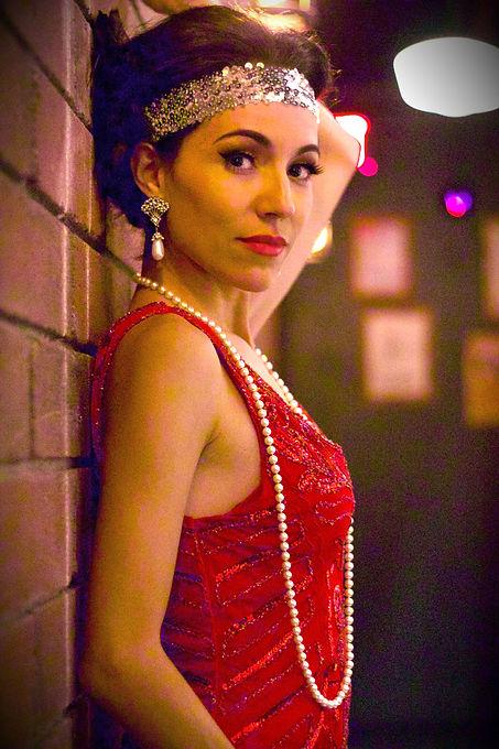 Phoenix Jazz Singer Jackie Lopez Gatsby Theme