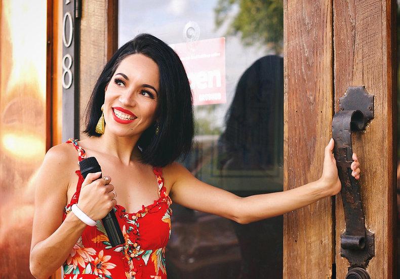 Jackie Lopez Live Jazz Singer La Locanda