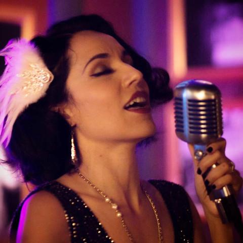 1920s Jazz Singer Jackie Lopez Old Hollywood Fashion