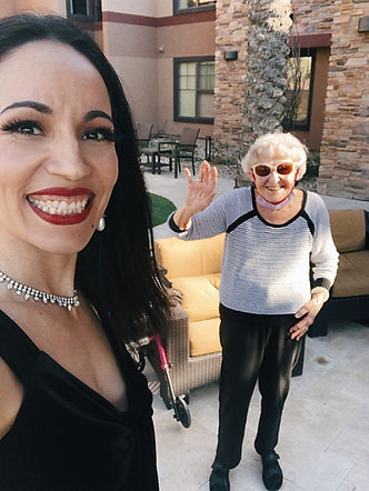 Senior Living Entertainer Jazz Singer Jackie Lopez Music