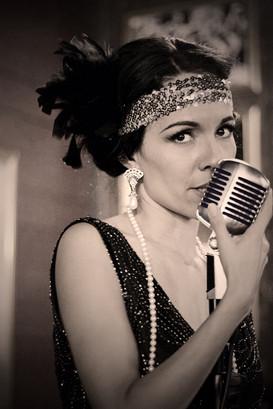 Vintage Jazz Singer Jackie Lopez Arizona