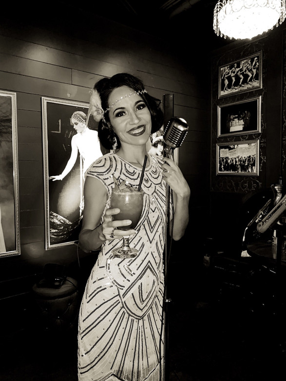 Arizona Speakeasy Singer Jackie Lopez
