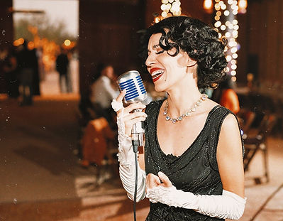 Arizona Wedding Jazz Singer Crooner Sinatra For Hire Female Vocalist Jackie Lopez